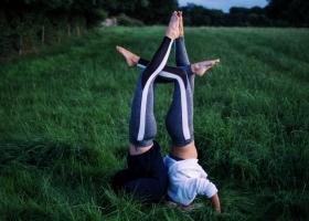 OMNI Yoga in the Green Fields of Northern Ireland